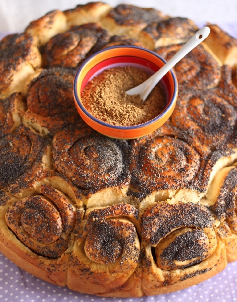 A Festive Bread with Olive Oil and Za' atar