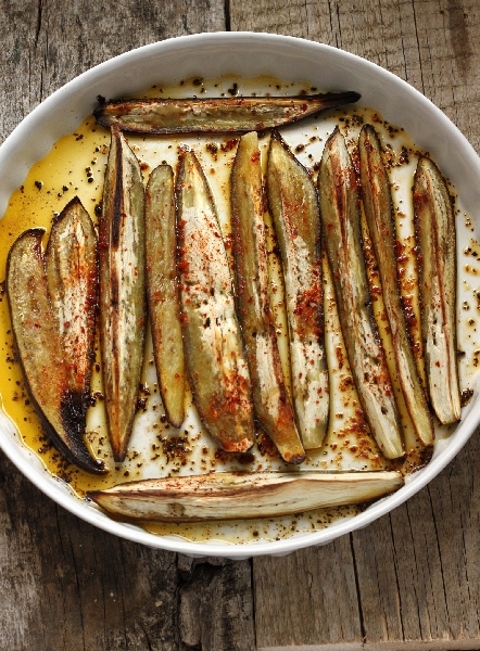 Roasted Eggplant with Chili Pepper